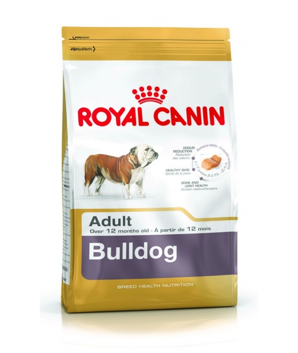 Для взрослого Английского Бульдога: с 12 мес. (Bulldog 24) 345030
