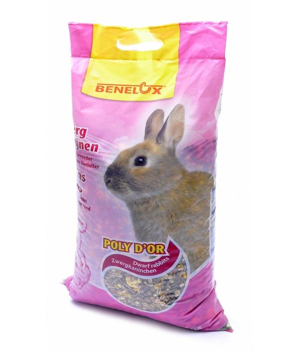 Корм для карликовых кроликов (Mixture for dwarfrabbits poly d'or ) 3110076