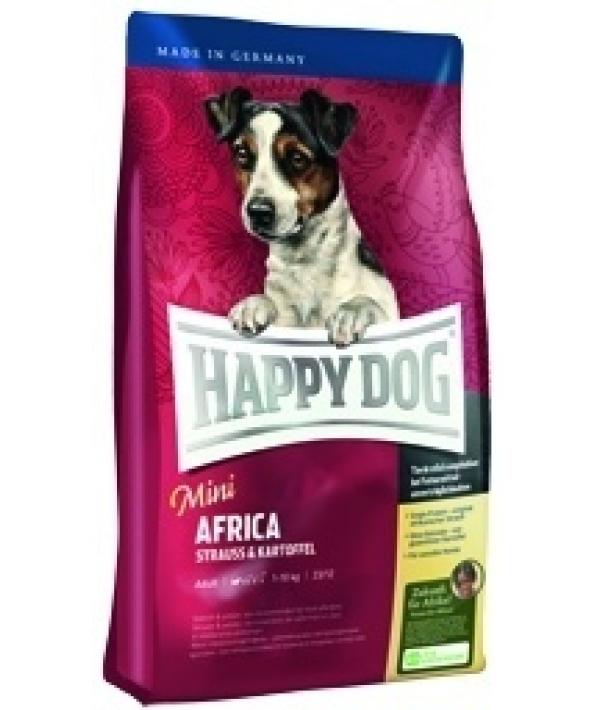 """""""Африка"""" для чувст. собак малых пород с мясом страуса (Mini Africa) 60121"""