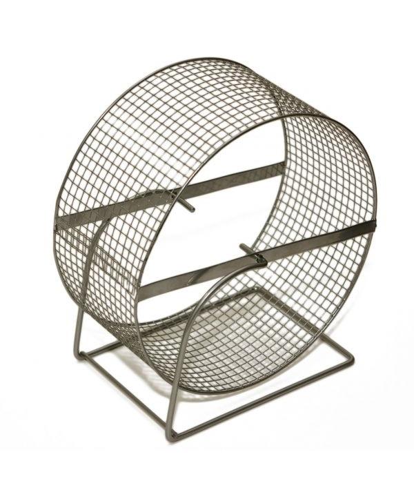 Колесо д/грызунов, метал.сетка, 20см (3152)