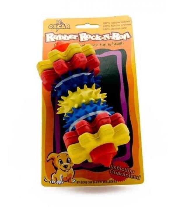 """Игрушка резиновая для собак """"Для чистки зубов №3"""" 15*7*7 см (52355)"""