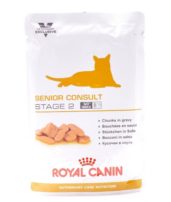 Паучи для кастриров.котов и кошек от 7 лет (Senior Consult Stage2) 775001/ 775101