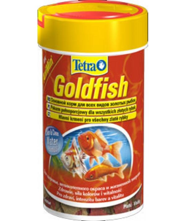 Корм для золотых и холодноводных рыб, хлопья Goldfish Floken 100 ml 177635