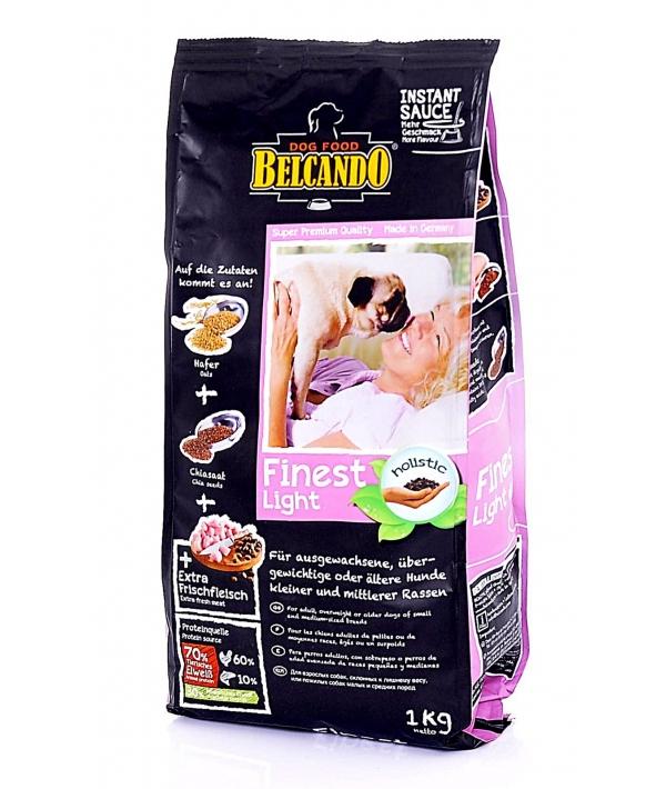 Лайт для собак до 25кг с уткой, картофелем, овсом и рисом (Finest – Light) 550 715