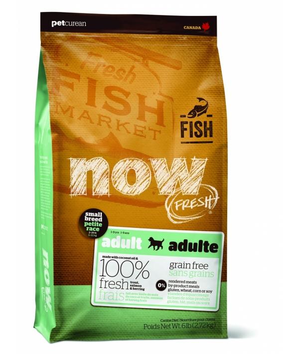 Беззерновой для Взрослых собак Малых пород с Форелью, Лососем и овощами (Fresh Small Breed Recipe Fish Grain Free 27/17)