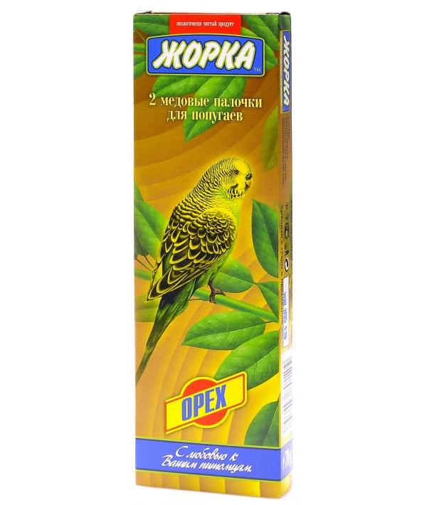 2шт. Палочки для попугаев с Орехами