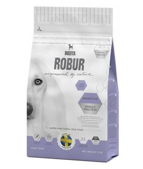 Robur для взрослых собак с нормальным уровнем активности и чувствительным пищеварением, с ягненком (Sensitive Single P 14833