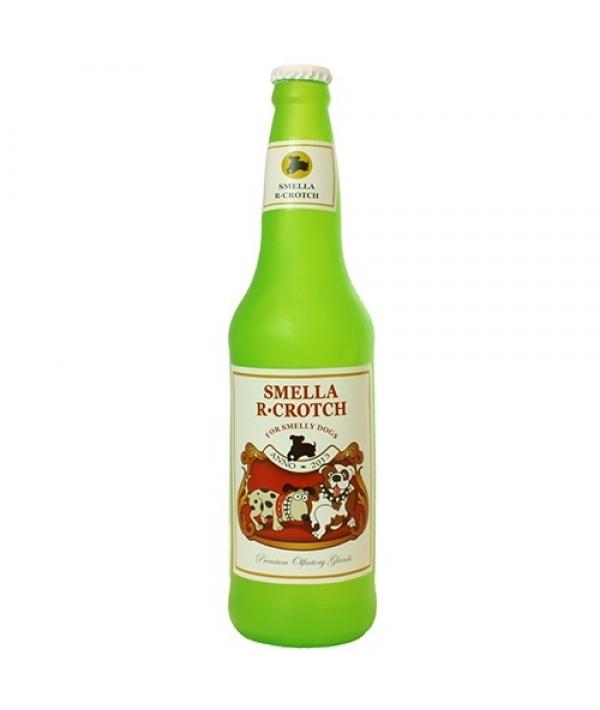 """Виниловая игрушка – пищалка для собак Бутылка пива """"Дружеские ароматы"""" (Beer Bottle SmellaRCrotch) SS – BB – SC"""