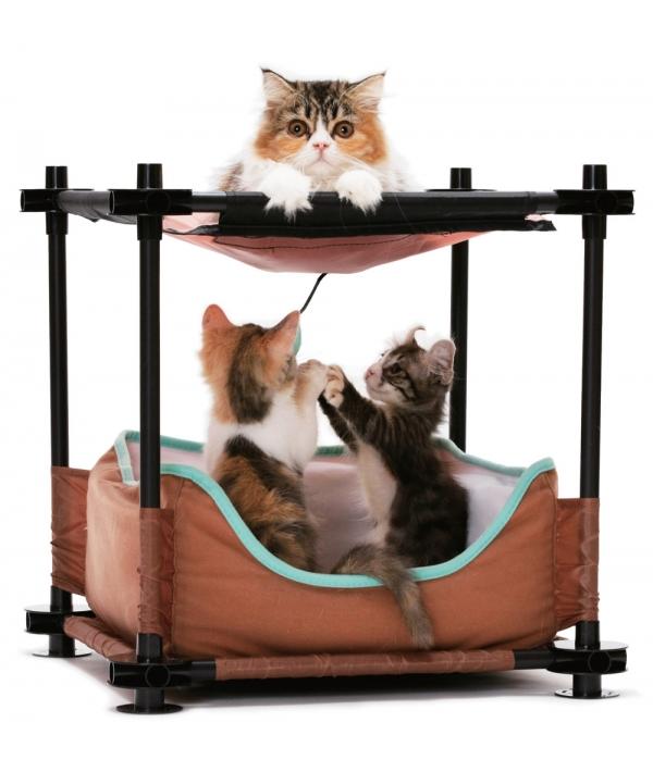 """Лежак для кошек: Барские покои """"Cozy Bed"""": 44*45*45см (pl0311)"""