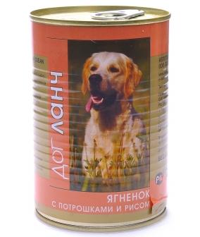 Консервы для собак Ягненок с потрошками и рисом в желе (29603)
