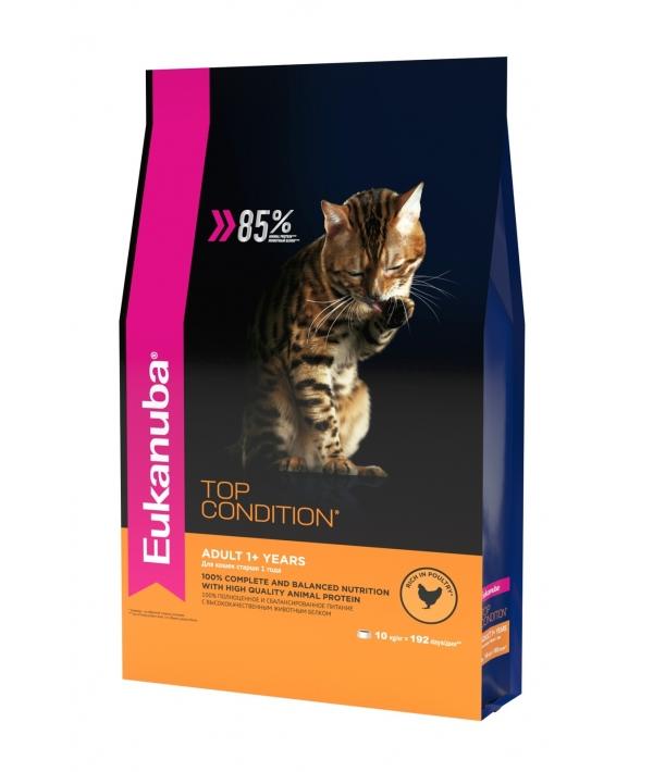 Для взрослых кошек с курицей (Adult Top Condition) 10144218
